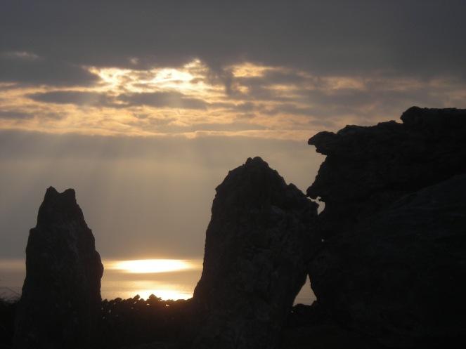 Sunset at Blackhead, The Burren