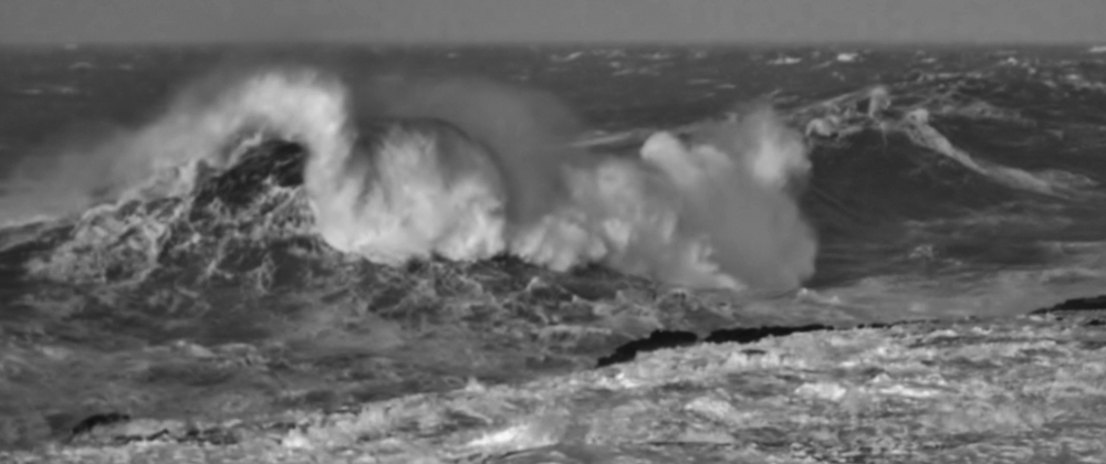 B&W Waves I